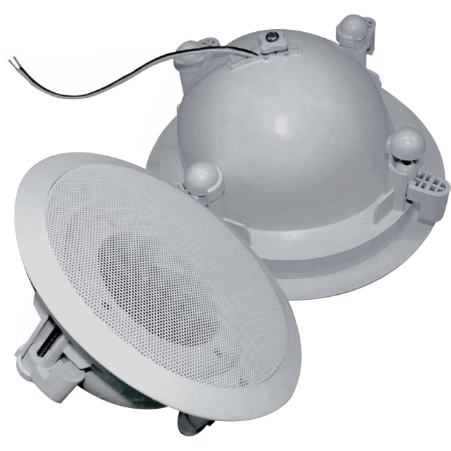"SP Controls 4"" Aimable Enclosed Ceiling Speaker (Single) SP-ICE5"