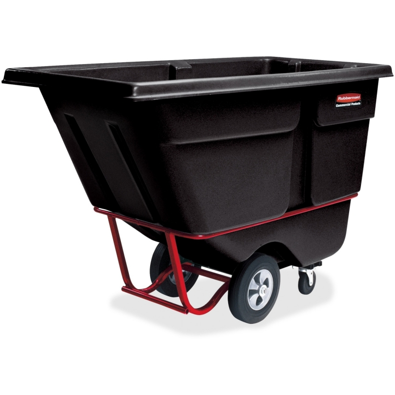 Rubbermaid Commercial 1250 lb Cap. Std Duty Tilt Truck 131500BK RCP131500BK