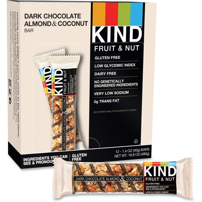 KIND Dark Chocolate Almond/Coconut Snack Bar 19987 KND19987