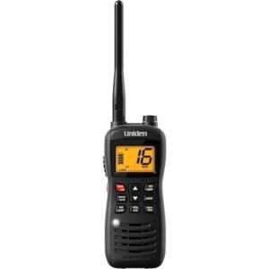 Uniden Submersible Handheld Two-Way VHF Marine Radio MHS126