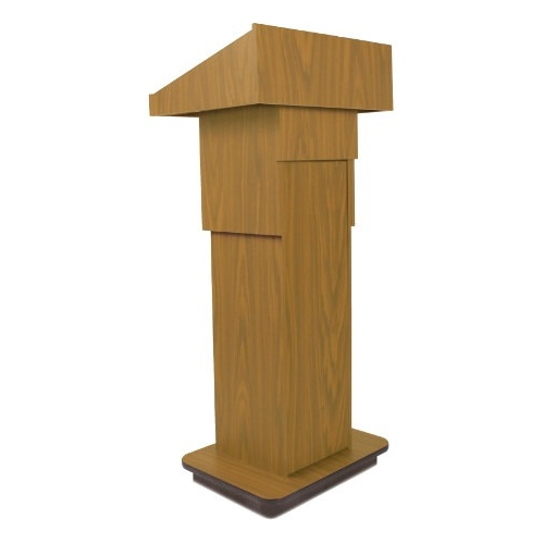 AmpliVox Executive Adjustable Column Lectern W505A-OK W505A