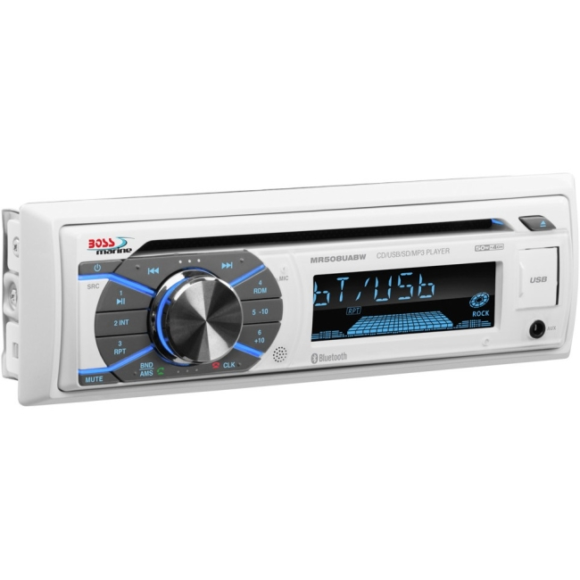 Boss Audio Single-DIN CD Player Bluetooth MR508UABW