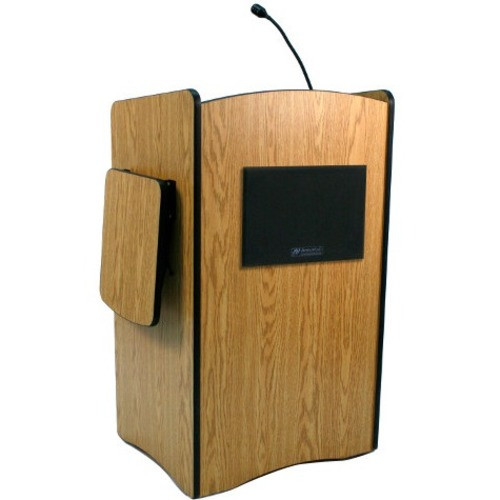 AmpliVox Multimedia Computer Lectern with Sound System SS3230MH SS3230