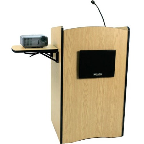 AmpliVox Multimedia Computer Lectern with Sound System SS3230-MP SS3230