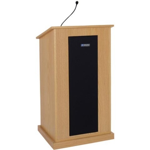 AmpliVox Chancellor Lectern with Sound System S470-MH S470