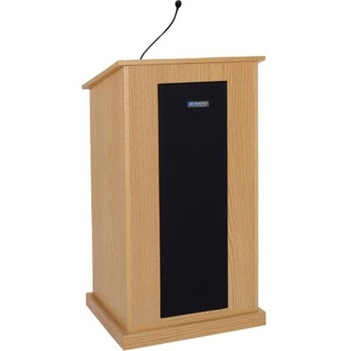 AmpliVox Chancellor Lectern with Sound System S470-WT S470