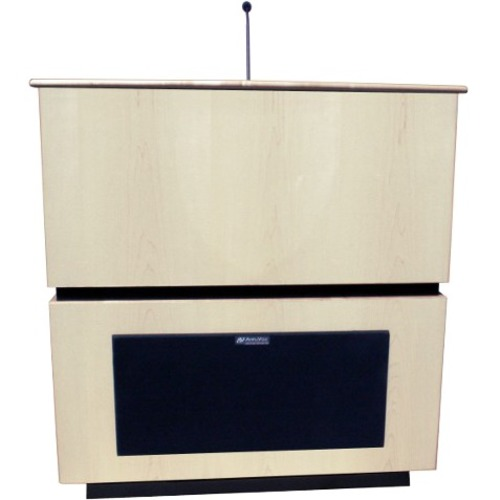 AmpliVox Coventry Lectern with Sound SS3030-WT SS3030