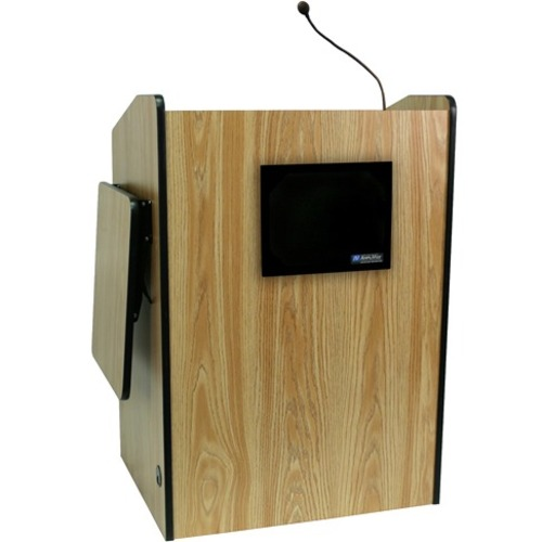AmpliVox Multimedia Presentation Podium with Sound SS3235-WT SS3235
