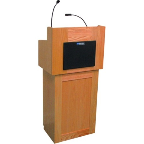 AmpliVox Oxford Lectern with Sound SS3010-OK SS3010