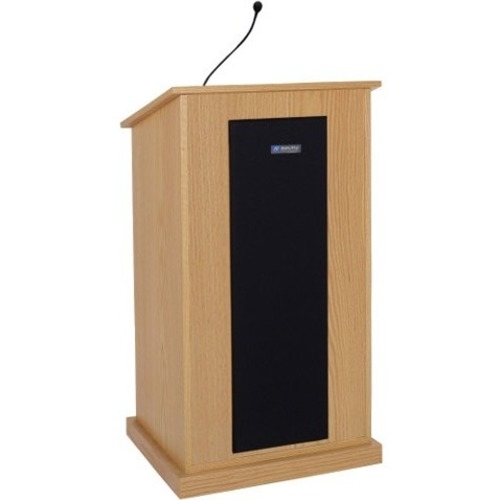 AmpliVox Chancellor Lectern with Sound System S470-CH S470
