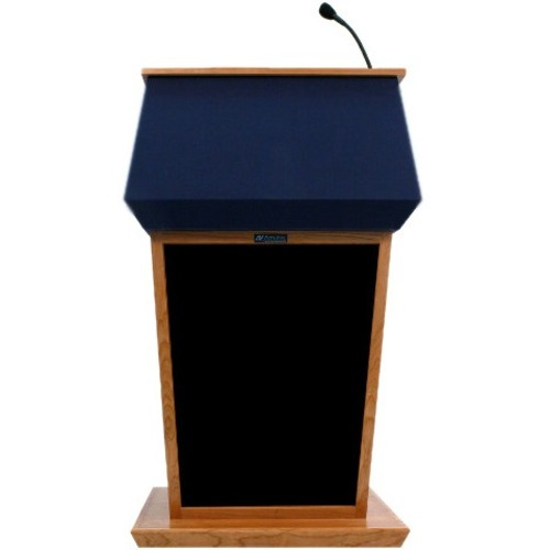 AmpliVox Patriot Lectern with Sound System SS3040-WT SS3040