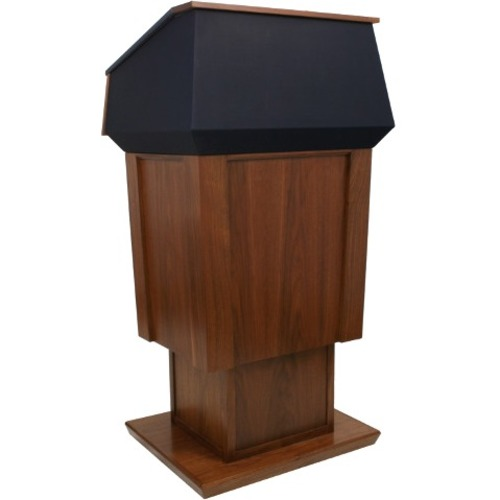 AmpliVox Patriot Adjustable Height Lectern SN3040A-WT SN3040A