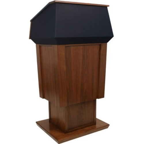 AmpliVox Wireless Patriot Plus Adjust Height Lectern SW3045A-WT SW3045A