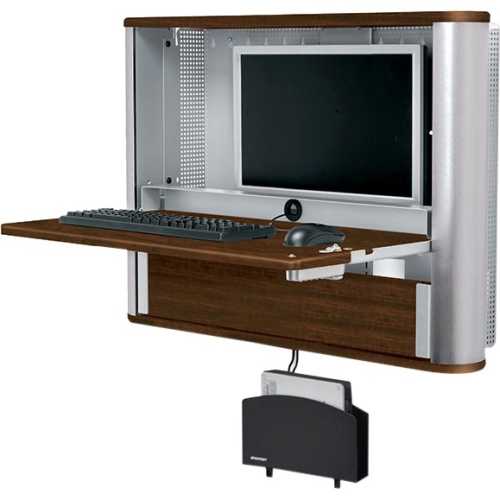 Ergotron eNook Pro, Wall Desk Workstation EPM3616SM/WL