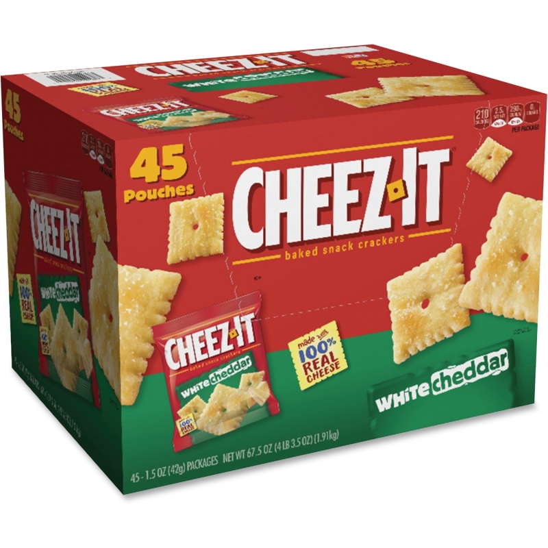 Keebler Cheez-It White Cheddar Baked Crackers 10892 KEB10892