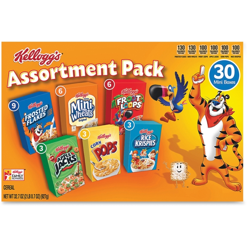 Kellogg's Mini Cereal Assortment Pack 14746 KEB14746