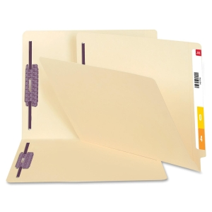 Smead Manila End Tab Fastener File Folders with SafeSHIELD Fasteners 34117 SMD34117
