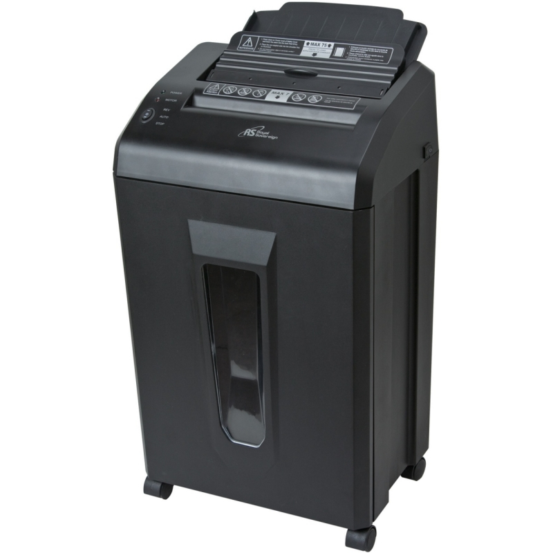 Royal Sovereign 75 Sheet Auto Feed-7 Sheet Manual Feed-Level 4 Security- Micro Cut Shredder AFX-908N