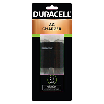 Duracell Wall Charger for USB Devices, 1 USB Port ECAPRO158 PRO158