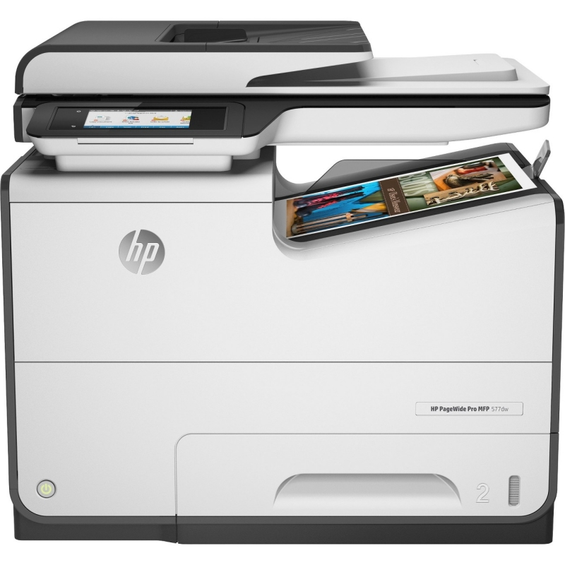 HP PageWide Pro Multifunction Printer D3Q21A HEWD3Q21A 577dw