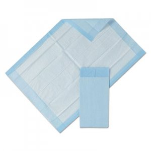 Medline Protection Plus Disposable Underpads, 23 x 36, Blue, 25/Bag, 6 Bag/Ctn MIIMSC281232CT MSC281232CT
