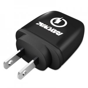 Rayovac Single USB Wall Charger, 1 USB Port, Black RAYPS101 PS101