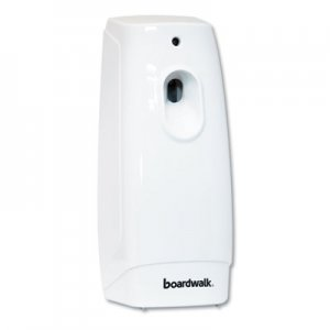 Boardwalk Classic Metered Air Freshener Dispenser, 4w x 3d x 9 1/2h, White BWK908