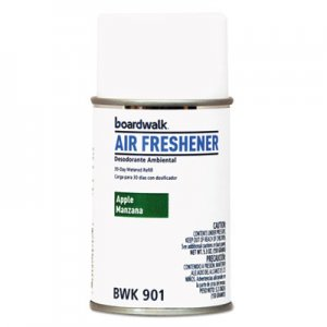 Boardwalk Metered Air Freshener Refill, Apple Harvest, 5.3 oz Aerosol, 12/Carton BWK901