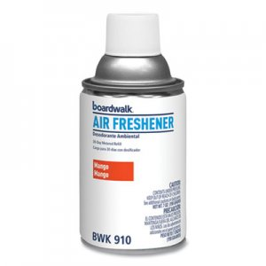 Boardwalk Metered Air Freshener Refill, Mango, 5.3 oz Aerosol, 12/Carton BWK910