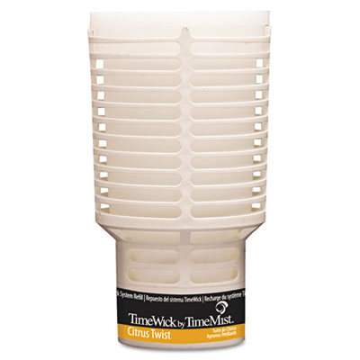 TimeMist TimeWick Dispenser Refill, Citrus Twist, 6/Carton TMS1043690 1043690