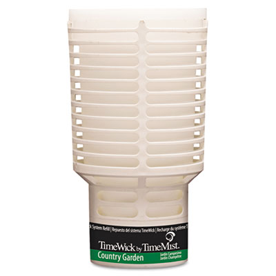 TimeMist TimeWick Dispenser Refill, Country Garden, 6/Carton TMS1043702