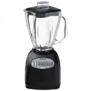 "Oster Simple Blend 200 Blender, 12-Speed, 6-Cup, 10 1/2"" x 7.2"" x 12.8"" OSR6684 006684000NP0"