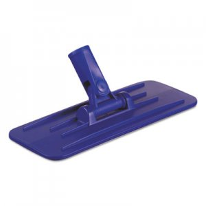 Boardwalk Swivel Pad Holder, Plastic, Blue, 4 x 9, 12/Carton BWK00405