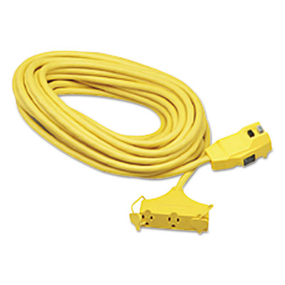 CCI Ground Fault Circuit Interrupter Cord Set, 25 Feet, Yellow COC02837 172-02837