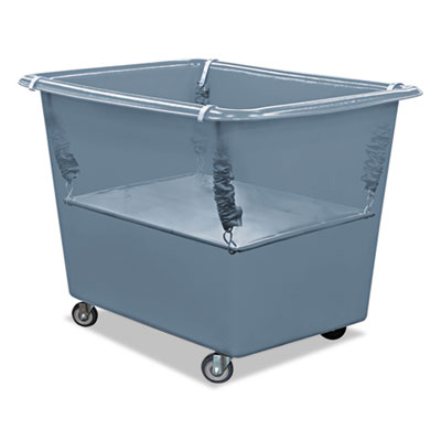Royal Basket Trucks Poly Spring Lift, 21 x 31 1/2, 12 Bushel, Vinyl/Steel, Gray RBTR12GGXPSN R12GGXPSN