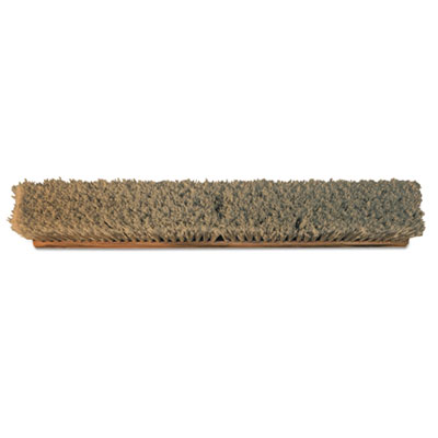 "O-Cedar Commercial Durham Fine Sweep Broom Head, Brown, 24"" x 3"", PVC, 6/Carton DVOCB270392 CB270392"