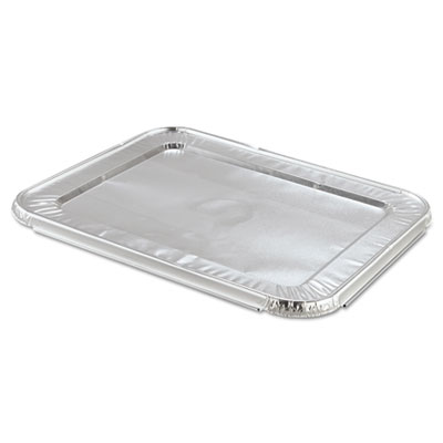 Handi-Foil of America Steam Table Pan Foil Lid, Fits Half-Size Pan, 12 13/16 x 10 7/16