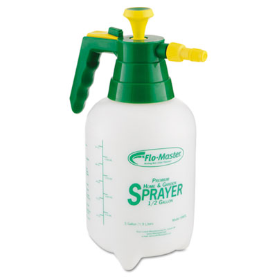 R. L. Flomaster Sprayer/Mister w/Adjustable Poly Nozzle, 64 oz, Polyethylene, Green/White RLF1998TL RLF 1998TL