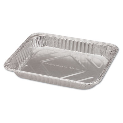 "Handi-Foil of America Steam Table Aluminum Pan, Half-Size, 1 11/16"" Shallow, 100/Carton HFA32035 32035"
