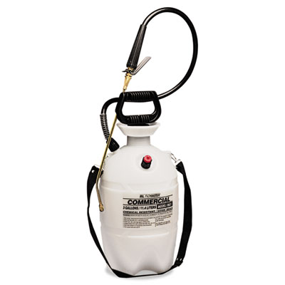 R. L. Flomaster Commercial-Grade Sprayer w/Flat Fan Nozzle, 3 Gallon, Polyethylene, White/Black RLF1963VI RLF 1963VI