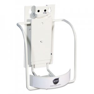 Sani Professional Universal 3-in-1 Sani-Bracket, Plastic/Vinyl-Coated Wire NICP010801 NIC P010801