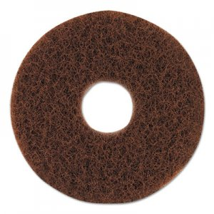 "Oreck Commercial Orbiter Strip Pad, 12"" dia, Brown ORK437049 437049"