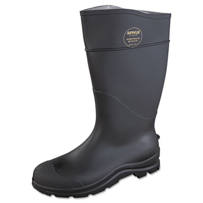 SERVUS by Honeywell CT Safety Knee Boot with Steel Toe, Black, Pair SVS1882112 617-18821-12