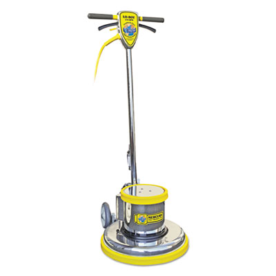 "Mercury Floor Machines PRO-175-15 Floor Machine, 1.5 HP, 175 RPM, 14"" Brush Diameter MFMPRO15 MFM PRO-15"