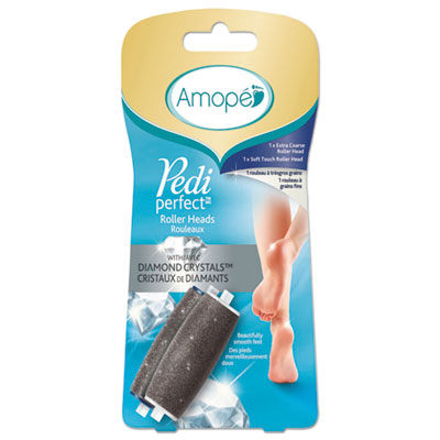 AMOPE Pedi Perfect Extra Coarse Electronic Foot File Refill, Gray RAC94926PK 94926PK