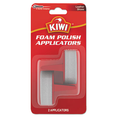 KIWI Foam Polish Applicators, White, 12/Carton DVOCB703067 CB703067