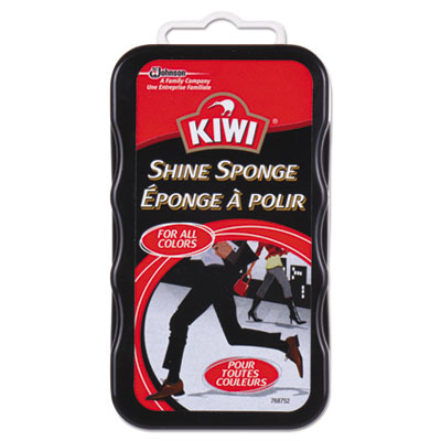 KIWI Shine Sponge, For All Colors, 12/Carton DVOCB153101 CB153101