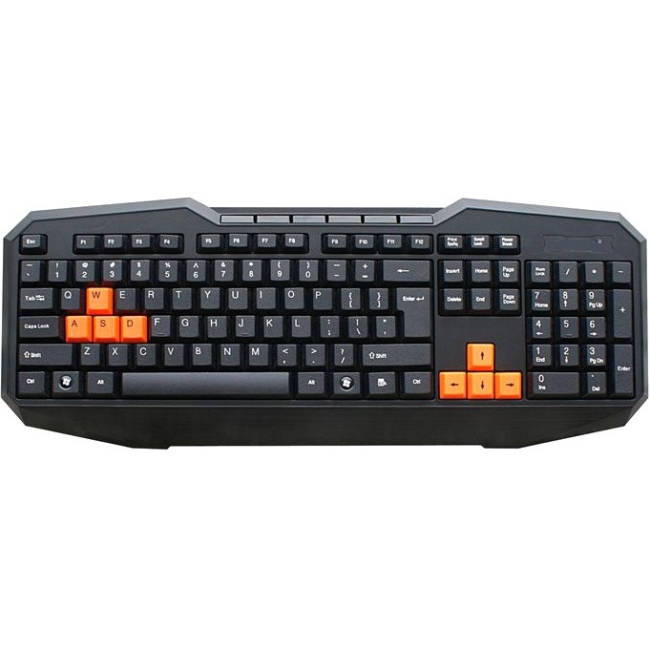 Inland Products USB Gaming Keyboard - 110 Key 70117