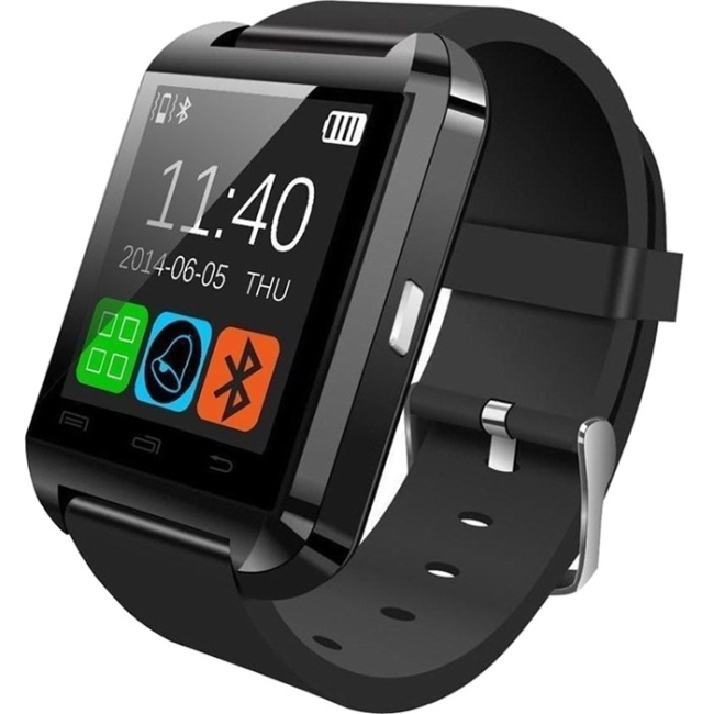 Worryfree Gadgets Bluetooth Smart Watch SMARTWATCH-BLACK