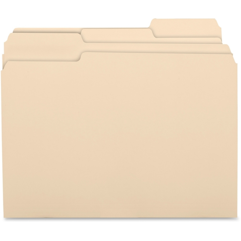 Business Source 1/3 Cut Recycled Top Tab File Folder 17525 BSN17525